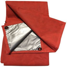 Moose Supply 5' x 7' Red Picnic Tarp