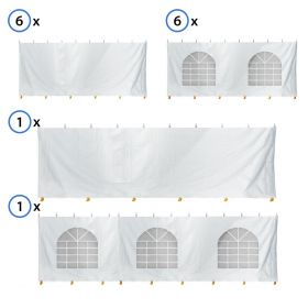 60' x 90' Standard Sidewall Kit for 7' Tent Sides