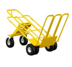 Multi Mover XT Commercial Grade Dolly, Heavy Duty Hand Truck with Foot Plate