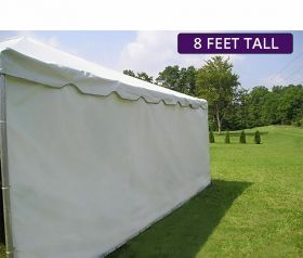 Moose Supply 10' x 20' Heavy-Duty Economy Sidewall Kit for 8' Tent Sides