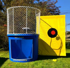 Buy Blue Portable Dunking Booth with New Wingless Design Dunk Tank