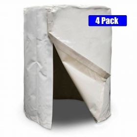 55-Gallon Water Barrel Cover - 4 Pack