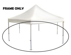 10' x 10' x 10' Hexagon Speedy Party Tent Frame
