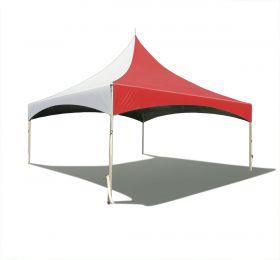 20 x 20 High Peak Frame Party Tent - Red Solid