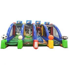 OPEN BOX 4-in-1 Inflatable Interactive Sports Game with Blower