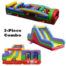 89' Retro MEGA 3-Piece Radical 7E Obstacle Course