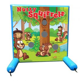 Nutty Squirrels, Sealed Air Inflatable Frame Game