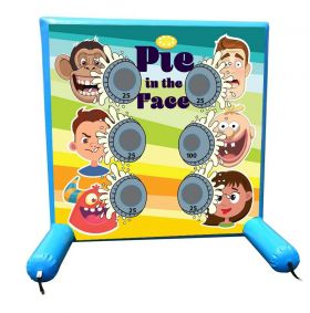 Pie in the Face, Sealed Air Inflatable Frame Game