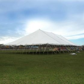 USED 50 'x 100' Party Pole Tent, C Grade