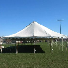 USED 30 'x 45' Party Pole Tent, C Grade