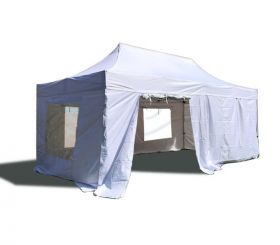 10' x 20' 50mm Speedy Tent Sidewall Kit - White