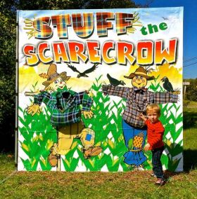 Stuff the Scarecrow Interactive Carnival Frame Game