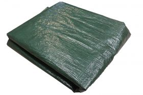 8' x 32' Water Resistant Wood Pile Poly Tarp Cover