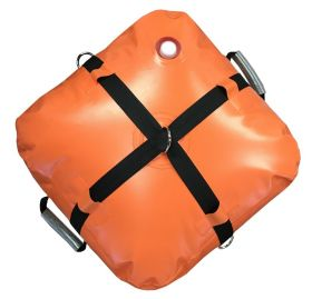 10 Gallon Orange Water Bag - Inflatable Anchor