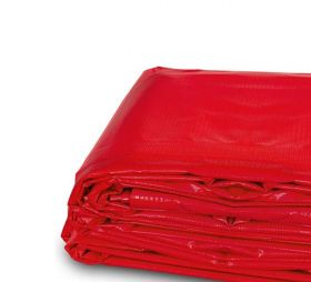 20' x 30' Heavy Duty Waterproof PVC Vinyl Tarp - Red