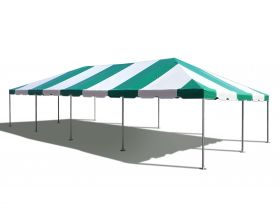 20' x 40' West Coast Frame Party Tent - Green and White