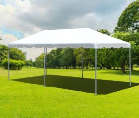 10' x 20' PVC Weekender West Coast Frame Party Tent - White