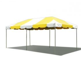 10' x 20' PVC Weekender West Coast Frame Party Tent - Yellow