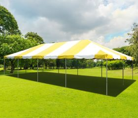 20' x 40' PVC Weekender West Coast Frame Party Tent - Yellow