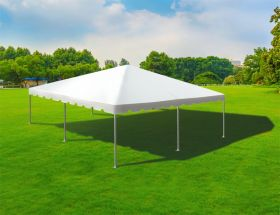 30' x 30' Twin Tube West Coast Frame Party Tent - White