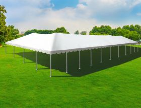 40' x 100' Single Tube West Coast Frame Party Tent, Sectional