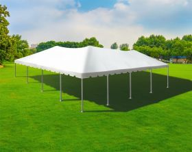 40' x 40' Single Tube West Coast Frame Party Tent, Sectional