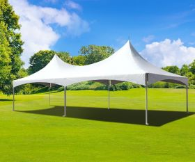 20' x 30' High Peak Frame Party Tent - White