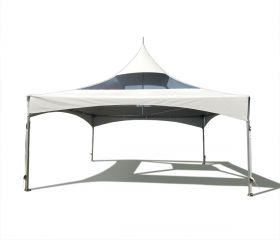 20 x 20 High Peak Frame Party Tent - Clear