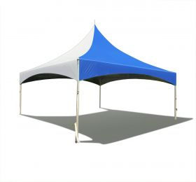 20 x 20 High Peak Frame Party Tent - Blue Solid