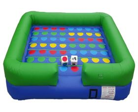 X-Treme Twister Inflatable Interactive Game with Blower