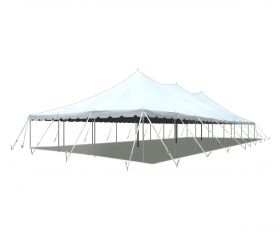 30' x 80' Premium Sectional Canopy Pole Party Tent - White