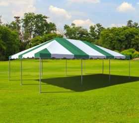20' x 30' West Coast Frame Party Tent - Green and White