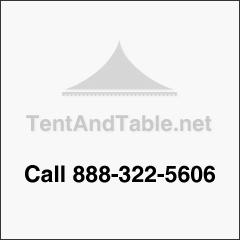 "12"" x 12"" White Vinyl Tent Patch Kit"