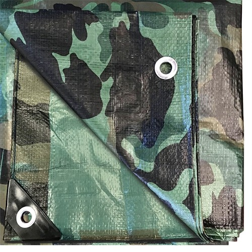Buy Water Resistant Camo Poly Tarp for Sale
