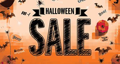 Tent & Halloween Sale