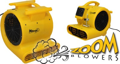 Zoom Blowers - Commercial Floor Dryers