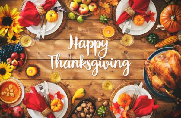 Wishing Your Family a Happy Thanksgiving from Tent and Table