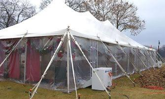 How to Heat a Party Tent in Winter: Here's What You Need