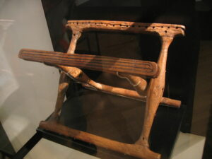 Ancient Nordic folding chair