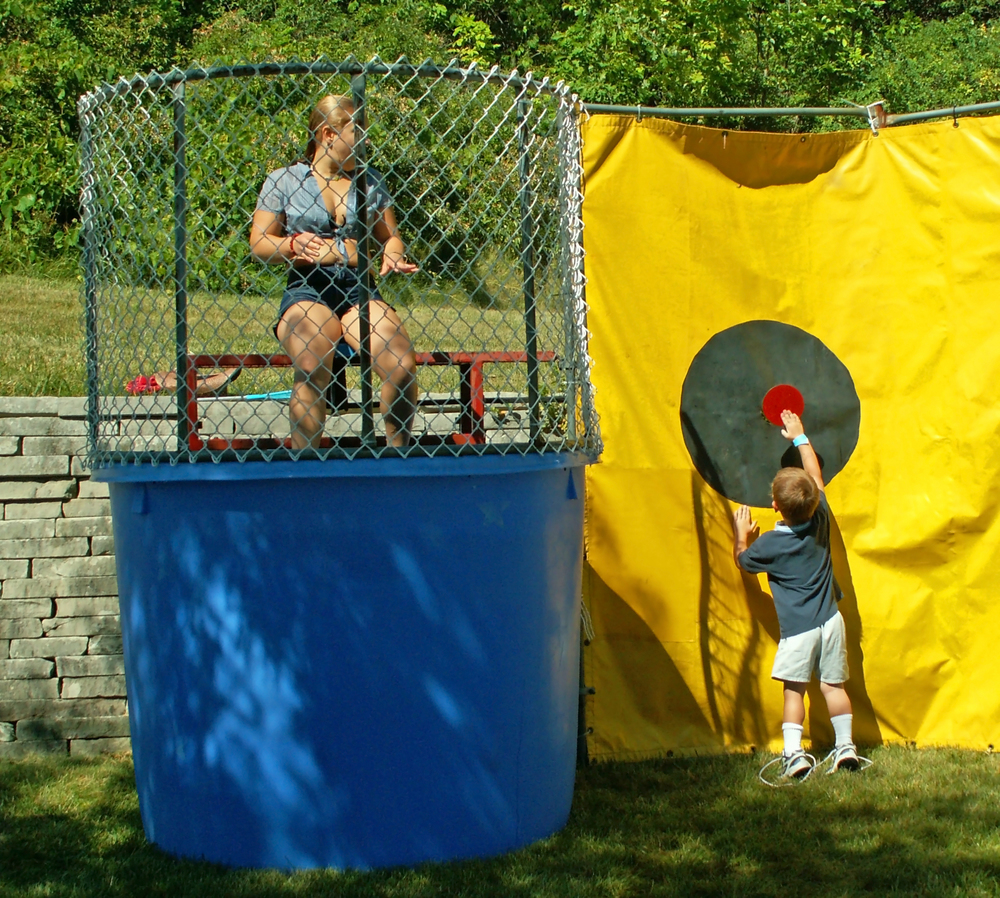 How much does a dunk tank cost?